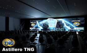 Video Mapping TNG
