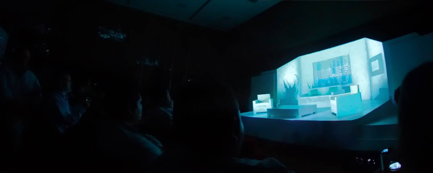 Projection Mapping Bticino